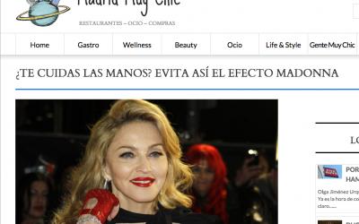 ¿Te cuidas las manos? Evita así el efecto Madonna