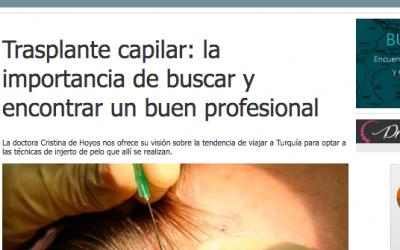 Trasplante capilar: la importancia de buscar y encontrar un buen profesional- Estetic.es