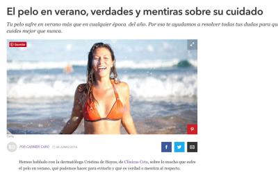 El pelo en verano, verdades y mentiras sobre su cuidado – Woman's Day