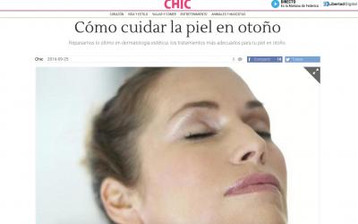 Los cuidados de la piel en otoño: dermatología estética