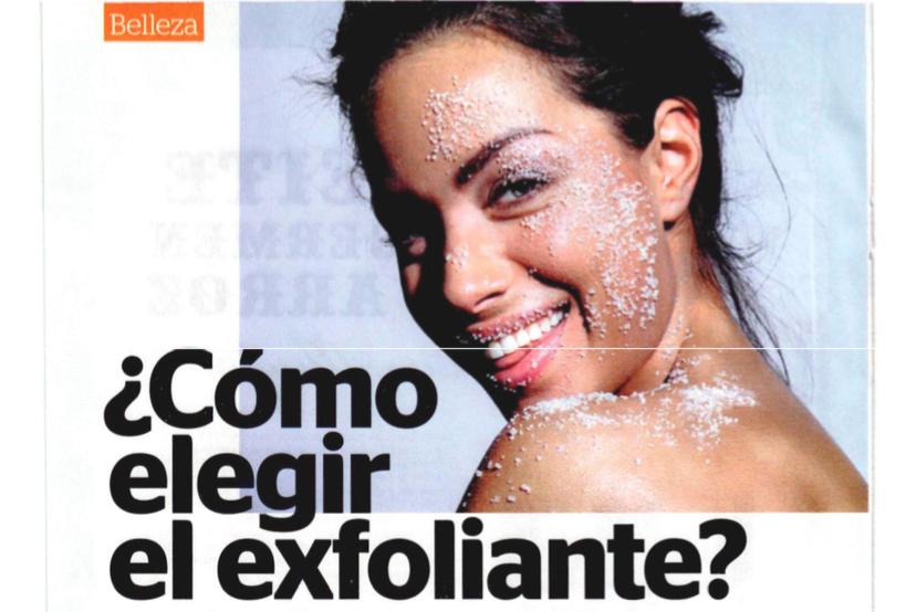 ¿Cómo elegir el exfoliante adecuado para tu piel?