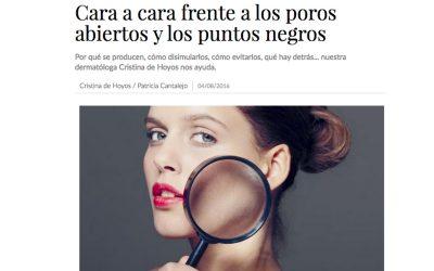 Cara a cara frente a los poros abiertos y los puntos negros- Marie Claire