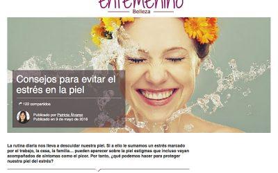 Consejos para evitar el estrés en la piel- Enfemenino.com
