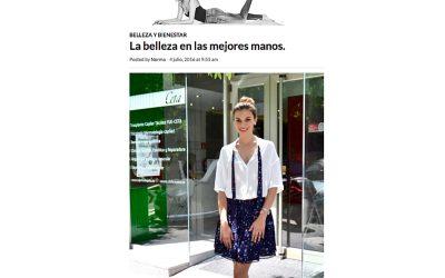 La actriz Norma Ruiz visita Clínicas Ceta- Norma para la vida