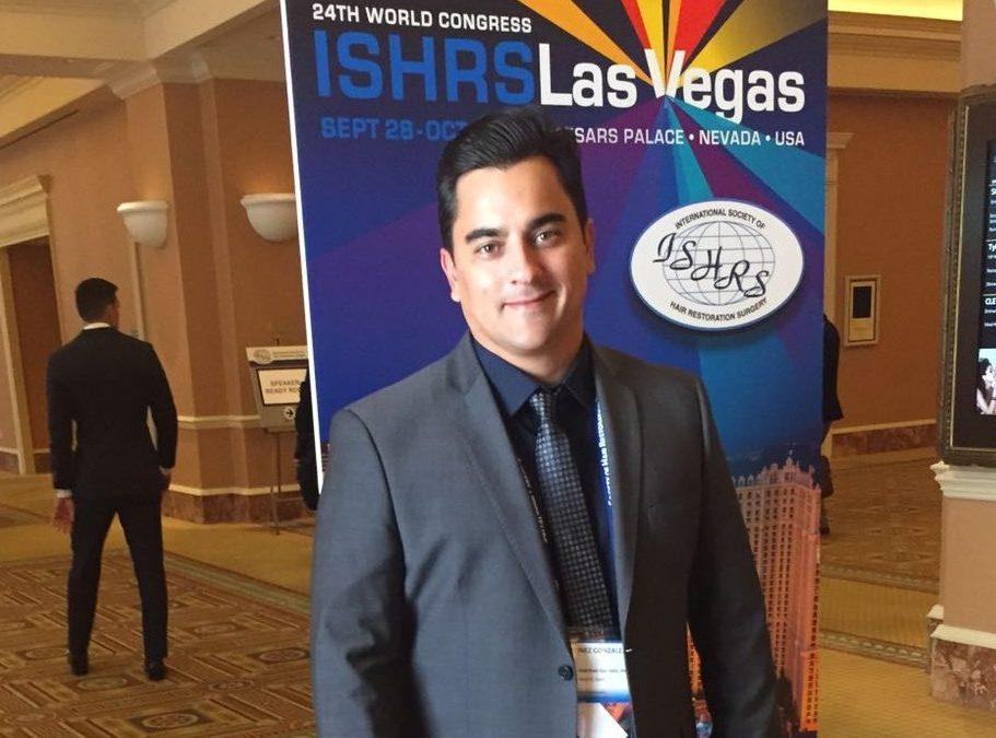 Clínicas Ceta en el Congreso Internacional de la Asociación de Restauración Capilar (ISHRS) en Las Vegas